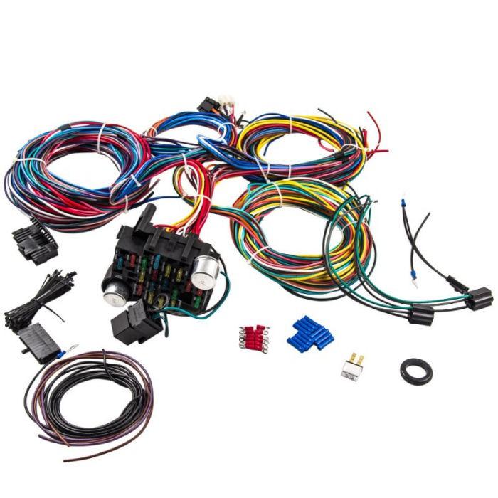 Cool Universal 21 Circuit Wiring Module And Wiring Harness Electrical Wiring Database Gramgelartorg