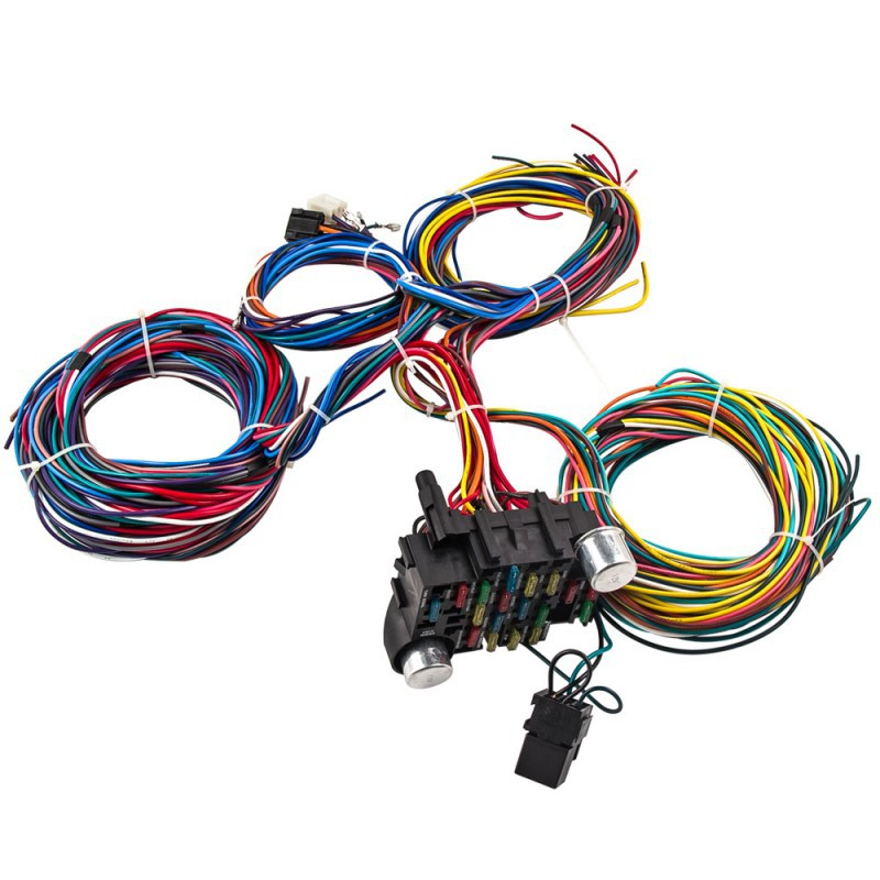 Marvelous Universal 21 Circuit Wiring Module And Wiring Harness Electrical Wiring 101 Capemaxxcnl