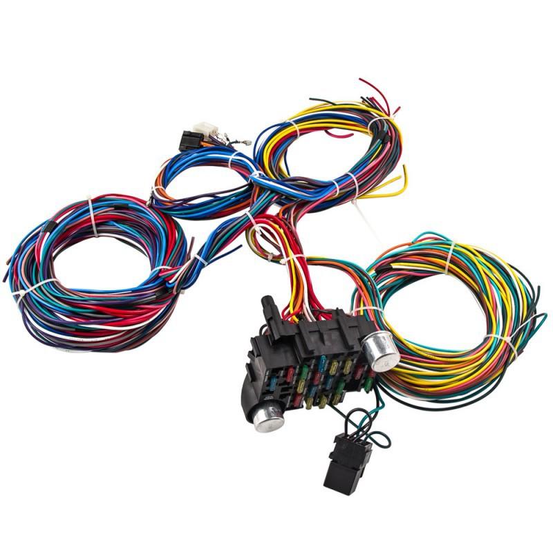Awe Inspiring Universal 21 Circuit Wiring Module And Wiring Harness Electrical Wiring 101 Photwellnesstrialsorg